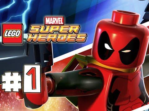 LEGO Marvel Superheroes - DEADPOOL MISSION 01 - Tabloid Tidy Up (100 ...