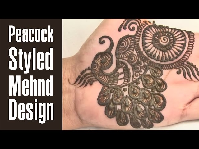 Bridal Mehndi Bunches : 10 latest & best peacock mehndi designs to try in 2018