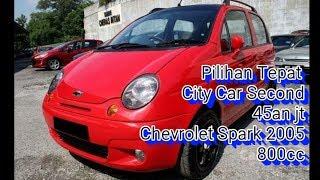 City Car Second 45an Juta...  Chevrolet Spark 2005