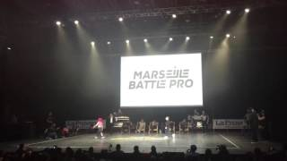 Marseille Battle Pro 2016 Bgirl Terra vs Bboy Fresh Final