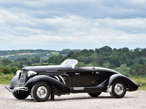1936 Auburn Eight Supercharged Speedster - For Sale at RM