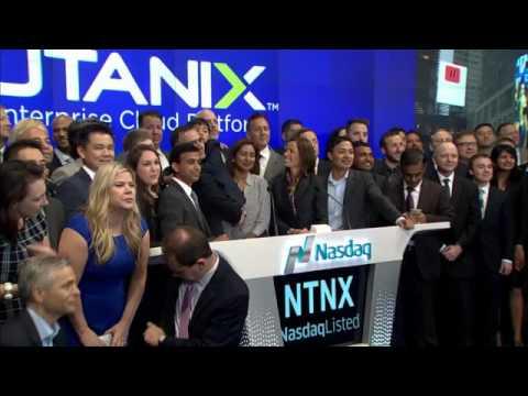 $NTNX - Nutanix rings the Nasdaq Opening Bell