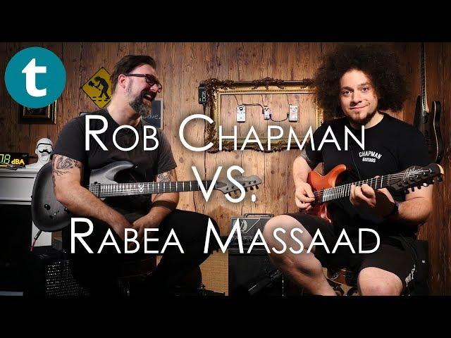 Thomann Riff Challenge Episode 3 - Rabea Massaad to Rob Chapman