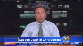 LA Newsman Chris Burrous Dies