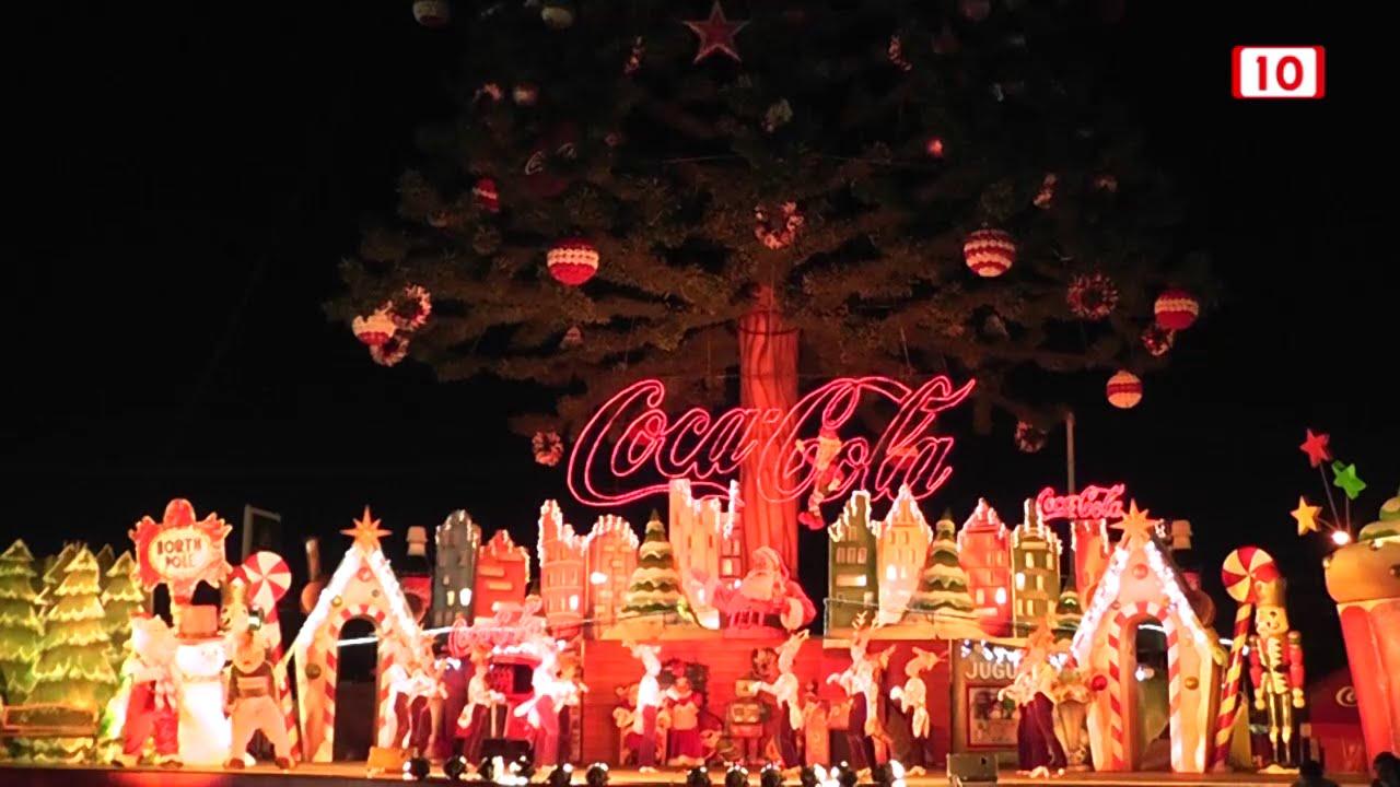 Cancion de navidad de coca cola