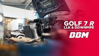 AFFENTI**EN STARK! | Ladeluftkühler + Downpipe Golf 7 R by BBM