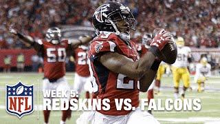 Atlanta Falcons Win in OT on Huge Interception TD Return | Redskins vs. Falcons | NFL