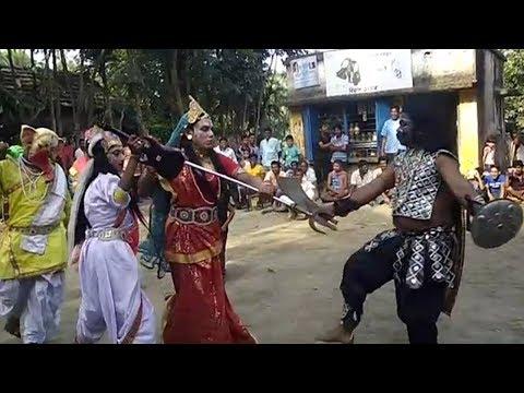 Village festival in Halisahar West Bengal India.