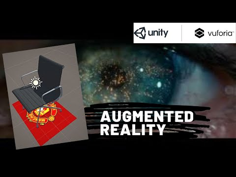 Marker based Augmented Reality Application using Unity3d and Vuforia 2019