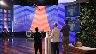 Ellen's 'You Bet Your Wife' Surprise for a Deserving Family