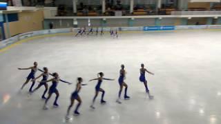Эдельвейс, Тольятти, 1 этап кубка России по синхронному катанию на коньках
