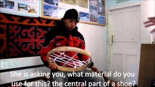 Mashkur Turkeshev Master Snowshoe Maker From Arslanbob, Kyrgyzstan