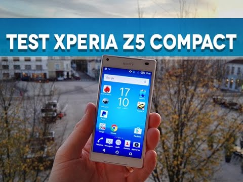 Test Sony Xperia Z5 Compact - Test Mobile