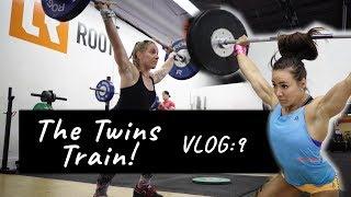CamilleBaz | VLOG Nine: Training with my TWIN!