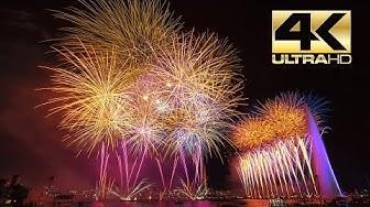 ⁽⁴ᴷ⁾ Le Grand feu d'artifice de Geneve 2019 - Sugyp - Fireworks - Feuerwerk