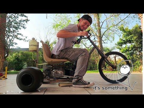 AL MENOS VA PARA ADELANTE..|| Drift Trike Parte 2