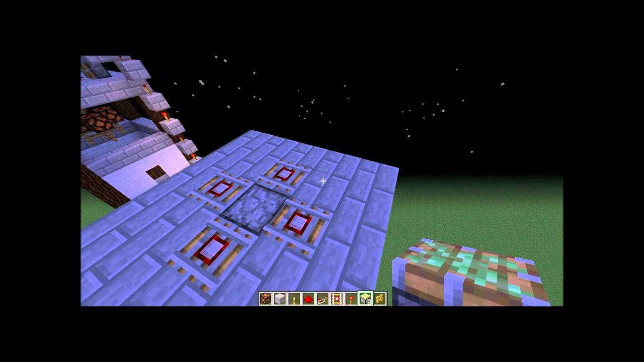 Redstone TUT for on and off Chandelier - YouTube