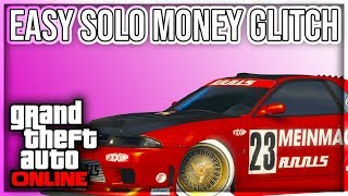(PATCHED) NEW EASY SOLO MONEY GLITCH (XBOX1/PS4) GTA 5 ONLINE 1.45 UNLIMITED MONEY GLITCH