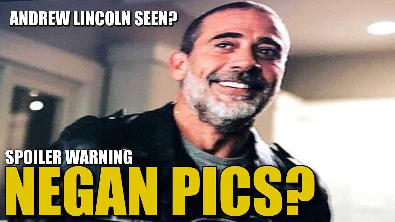 The Walking Dead Season 9 Rick Negan News Whats Up With These Negan Photos Where Is Rick