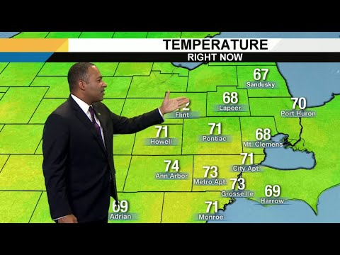 Metro Detroit weather brief, 8/22/2019, noon update
