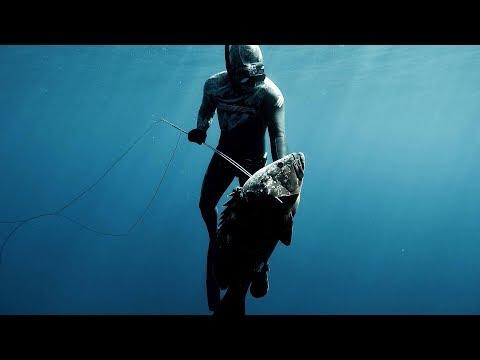 Spearfishing Leros island - ONE BREATH #02
