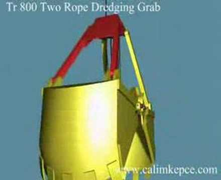 TR800  The Two Rope DREDGING Clamshell GRABS