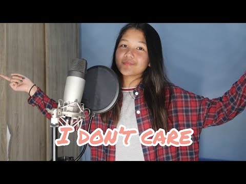 I DON'T CARE - ED SHEERAN & JUSTIN BIEBER | COVER BY CHARISA FAITH