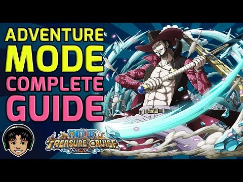 ADVENTURE MODE! Everything You Need To Know! [One Piece Treasure Cruise]