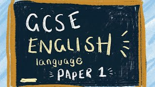 Q1 & 2  Paper 1 Edexcel GCSE English Language (9-1)