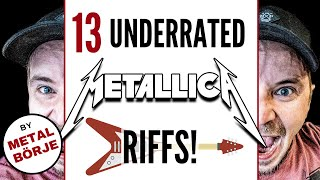 13 Underrated Metallica Guitar Riffs