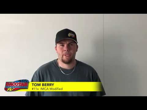 Tom Berry Talks Iron Man 100 | Dacotah Speedway