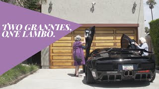 Two Grannies, One Lamborghini | Donut Media