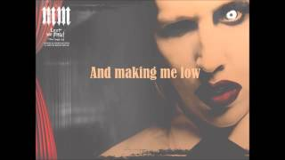 Marilyn Manson - Heart-Shaped Glasses Lyrics