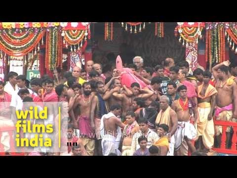 Car Festival of Puri or Jagannath Rath Yatra - Odisha
