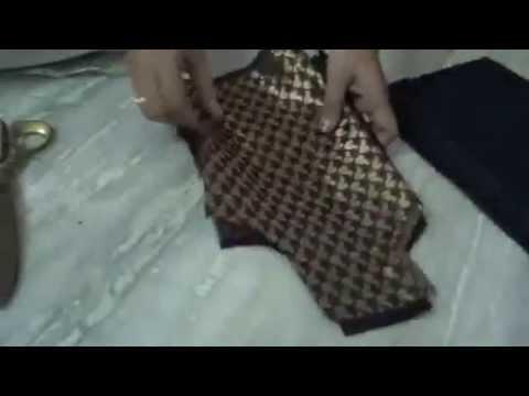 Langa And Jacket Cutting For Child In Telugu Youtube