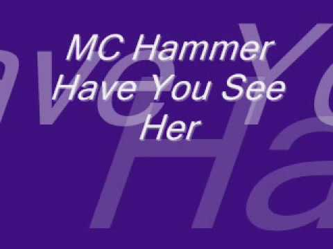 Mc Hammer - Have You See Her - Instrumental.wmv