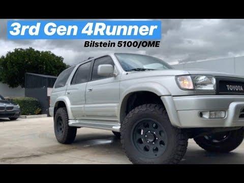 3rd Gen T4R Toyota 4Runner on Bilstein 5100 OEM Tundra Front Coils & OME  Rear Springs
