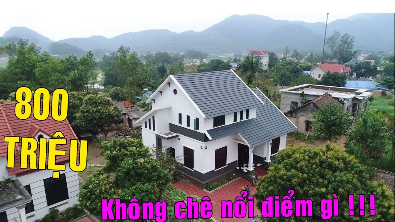Mẫu Nhà quá đẹp KHÔNG CHÊ NỔI ĐIỂM GÌ – Tổng chi Phí 800 Triệu