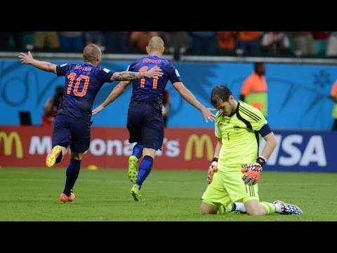 World Cup 2014: Netherlands humiliate holders Spain in Group B opener - The Corner