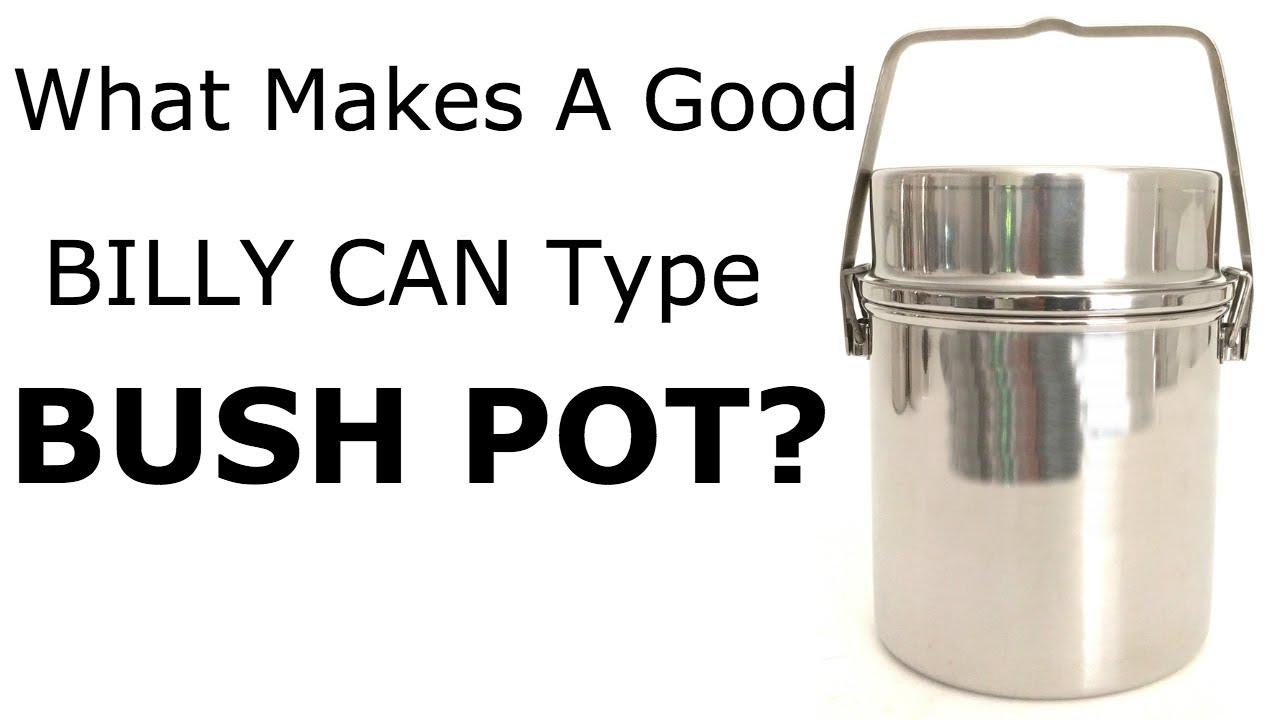 Firebox Billy Bush Pot 2 Qrt 14cm