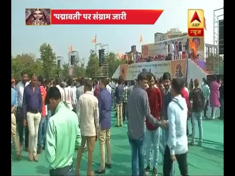 Karni Sena holds massive meet in Gujarat's Gandhinagar against film Padmavati