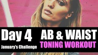 AB, WAIST & LOWER BACK TONING WORKOUT