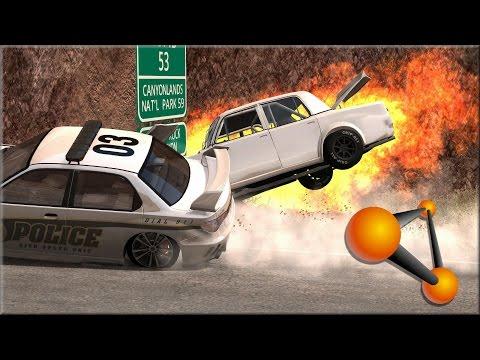 BeamNG Drive Random Vehicle #42 Crash Testing #155