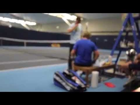 Mike Wisner's World Record 25 Best of 3 Set Tennis Matches
