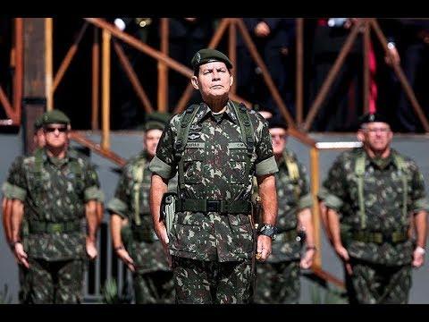 """General Mourão: """"Se o País flertar com o CAOS as Forças Armadas entrarão em CENA!"""""""