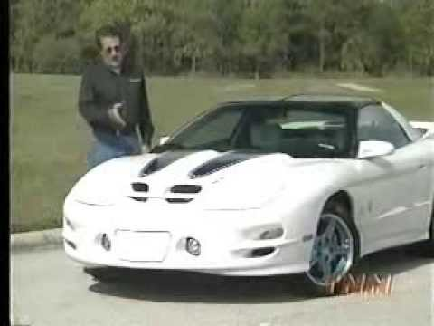 Car and Driver Television 30th Anniversary 1999 Pontiac Trans Am