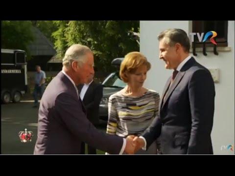 Prinţul Charles, oaspetele Familiei Regale a României (@Ora Regelui)