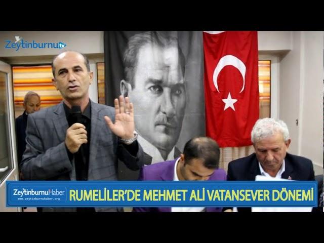Rumeli Derneğinde Mehmet Ali Vatansever Dönemi başladı