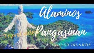 Hundred Islands Alaminos Pangasinan travel video 2018