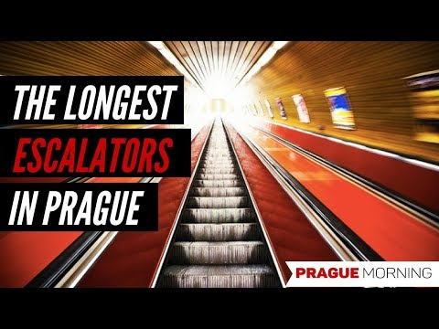 The Longest Escalator in Prague